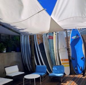 サーフィンの練習