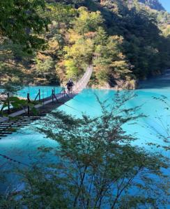 静岡県にある夢の吊り橋