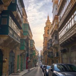 マルタの首都バレッタ